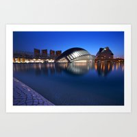 Arts and Science Museum Valencia Art Print