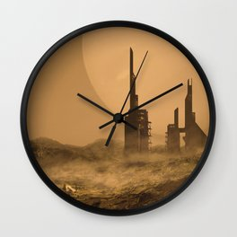 Abandoned Station Wall Clock
