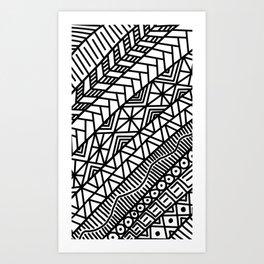 Quick Doodle Art Print