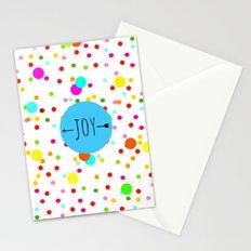 It's raining polka dots Stationery Cards