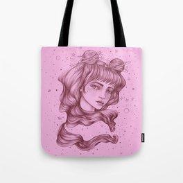Space Princess Tote Bag