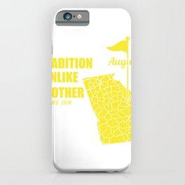 Georgia Golf Tradition USA Golfer Gift iPhone Case