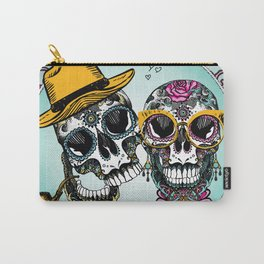 sugar skull familly Carry-All Pouch