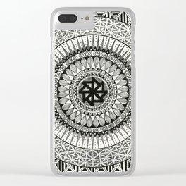 Mandala3 Clear iPhone Case