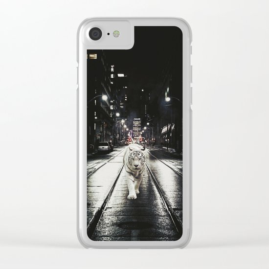 Night Watcher Clear iPhone Case