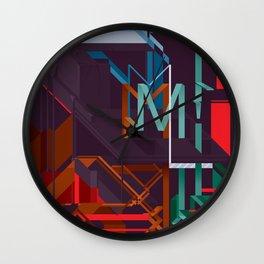 M! Wall Clock