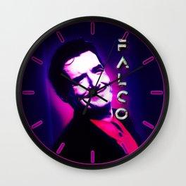 Falco Black Light Wall Clock