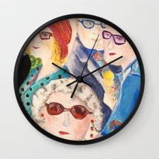 summer in Cambridge Wall Clock