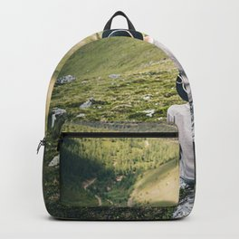 Hiker on the Peak Photography Backpack