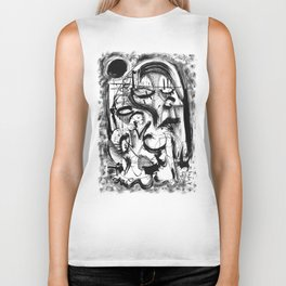 The Witch and Her Sons Biker Tank