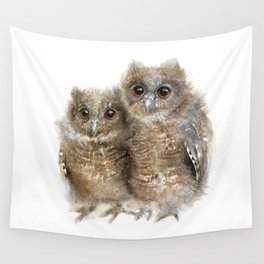 Baby Owls Wall Tapestry
