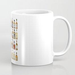 Whiskey bottles Coffee Mug