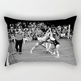 Kevin VonEric vs Frank Star Rectangular Pillow