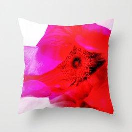 Rosa Rugosa Throw Pillow