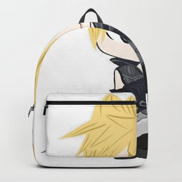 White cloud with sword Backpack