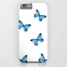 Mariposa Azul  iPhone Case