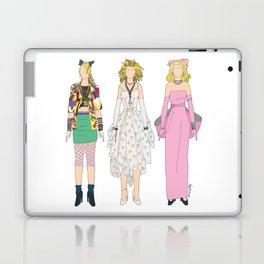 Triple Madge Material Girl Laptop & iPad Skin