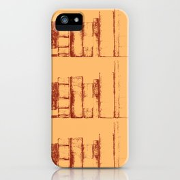 Books, in a row iPhone Case