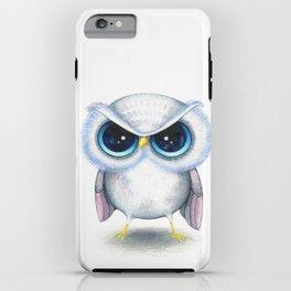 Grumpy Owl  iPhone Case