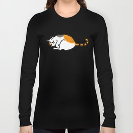 Comfy Calico Cat Long Sleeve T-shirt