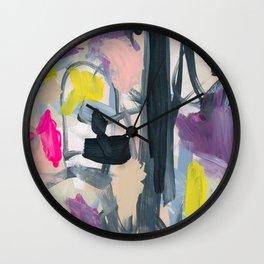 Colorful Chaos Wall Clock
