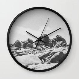 JUMBO ROCKS / Joshua Tree National Park Wall Clock