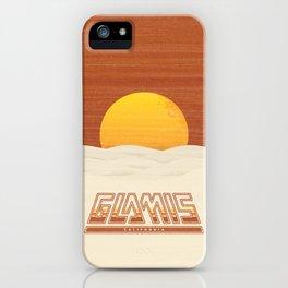 Glamis, California iPhone Case