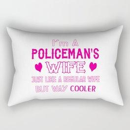 Policeman's Wife Rectangular Pillow