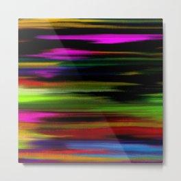 Abstract intense Metal Print