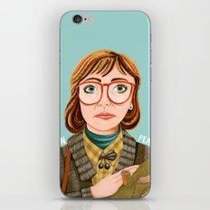 Log Lady iPhone & iPod Skin