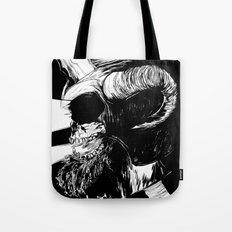 The Dead: Viking Skull of Power Tote Bag