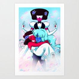 Gem Wedding Art Print