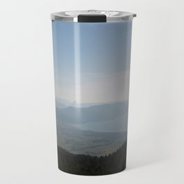 Cool Blue Sky and Green Plains of Gokova from Sakartepe Travel Mug