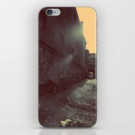 Unknown side iPhone Skin