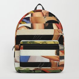 Glitch Pin-Up Redux: Lindsey Backpack