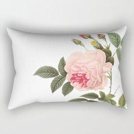 Vintage Pink Rose [04] Rectangular Pillow