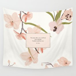 You must allow me...Mr. Darcy. Pride and Prejudice. Wall Tapestry
