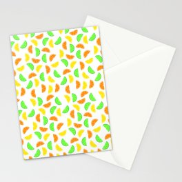 Citrus Fruits, Lemons, Limes and Oranges Stationery Cards