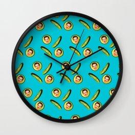 Benedict Cumberbatch Cucumbers Wall Clock