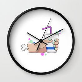 Give Me a Hand Wall Clock