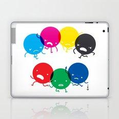 CMYK fights RGB Laptop & iPad Skin