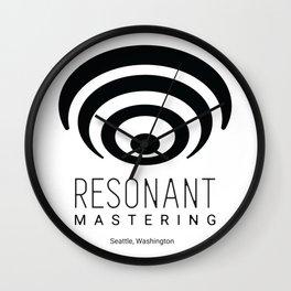 Resonant Mastering Logo Wall Clock