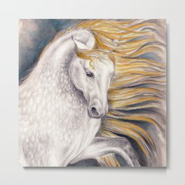 Pretty Palomino Metal Print