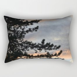 Oregon Sunset Rectangular Pillow