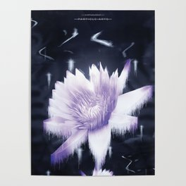 Particle Arts Poster