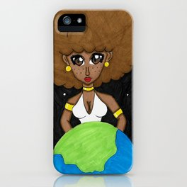 Be the queen of your own world iPhone Case
