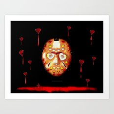 Jason.....a love story 025 Art Print