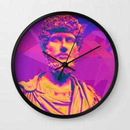Forward or Bust Wall Clock