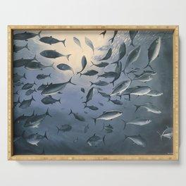 School of Fish 2 Serving Tray