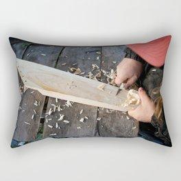 Karelian 5-string Kantele Rectangular Pillow